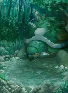 This is beautiful! It almost makes me want to restart my Platinum game and go with Turtwig this round.