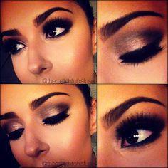 dramatic makeup. xoxo Jess