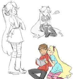 Starco doodles by sesshyfanchick on DeviantArt