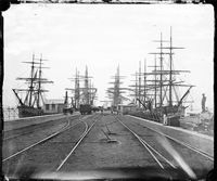 Railway Pier at Williamstown, Victoria in 🌹 Time In Australia, Sydney Australia, Melbourne Suburbs, Old Sailing Ships, Melbourne Victoria, Herzog, Tall Ships, Historic Homes, Historical Photos
