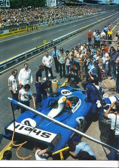 Matra pits stop Le Mans