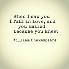 THIS!  Who doesn't love Shakespeare's quotes about love?!?  SIGH....