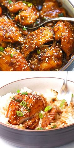 New Chicken Recipes, Chicken Thigh Recipes, Clean Eating Recipes, Healthy Eating, Healthy Recipes, Easy Recipes, Delicious Dinner Recipes, Brunch Recipes, Food Videos