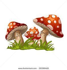 Mushroom Ilustrações e desenhos Stock Mushroom Drawing, Mushroom Art, Cartoon Pics, Cartoon Drawings, Pebble Painting, Painting On Wood, Cartoon Mushroom, Dibujos Cute, Bullet Journal Art