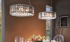 Crystal Dining Room Pendants - Kichler Lighting www.shopazteclighting.com