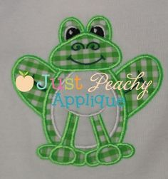 Frog 2 Applique Design
