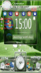 green exploreo themeess5228, 5230, 5230 Nuron, 5233, 5235 Music Edition, 5250, 5530 Xpress Music, 5800 XpressMusic, C5-03, C6-00, N97, N97 mini, X6, X6 16GB, X6 8GB, C5-04, C5-05, C5-06, 603, 600, X7-00, C6-01, N8. Technology, Mini, Green, Tech, Tecnologia