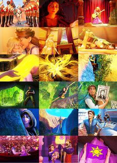 Tangled Color Chart