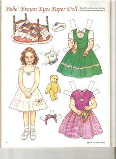 BEBE Brown Eyes 1 artist Theresa Borelli for Martha Pullen Company in Sew Beautiful Magazine