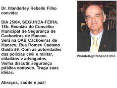 Jornalista Denise Machado: Reunião do Conselho Municipal de Segurança de Cach...