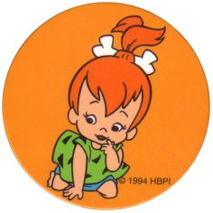 """How many U.S. baby girls were named Pebbles in 1963, the year Pebbles Flintstone was born on the cartoon """"The Flintstones""""? Description from pinterest.com. I searched for this on bing.com/images"""