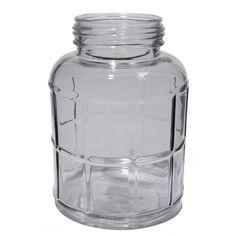 Windlicht ruitvorm glas. Een transparant windlicht met decoratief ruitvormig glas. #intratuin #pintratuin
