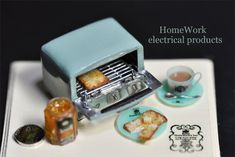 2017. 11 Miniature Electrical Products Dollhouse ♡ ♡ By Home Work
