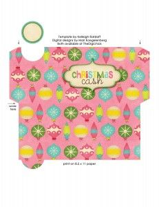 Free Christmas Cash Envelope Printables | Printables | Pinterest ...