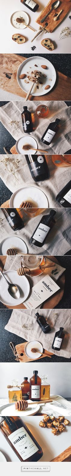 745ff43dda0 Branding and packaging for Amber by Oddds... - a grouped images picture