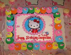 Hello Kitty Party Cake.  Sams very great prices. Hello Kitty Party