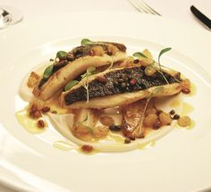 South Coast John Dory is served at the Galvin at Windows in the London Hilton on Park Lane. When you are craving traditional English culture, try making this South Coast John Dory from Chef Andre Garrett.