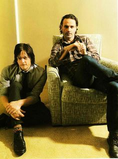 Andrew and Norman <3 <3