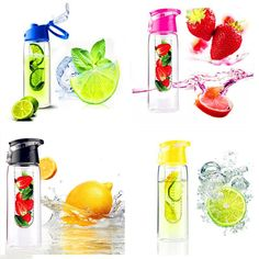 800ml Water Bottle Fruit Infuser