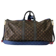 Buy your keepall leather bag Louis Vuitton on Vestiaire Collective, the luxury consignment store online. Second-hand Keepall leather bag Louis Vuitton Multicolour in Leather available. Sacs Louis Vuiton, Louis Vuitton Keepall, Pre Owned Louis Vuitton, Vintage Louis Vuitton, Designer Travel Bags, Stella Mc, Trainer Boots, Travel Bags For Women, Backpack Travel Bag