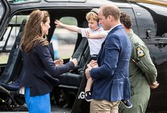 Prince George Has a Tantrum at a Royal Air Show, Kate Is Every Mom