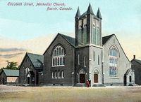 Elizabeth Street Methodist Church, Barrie