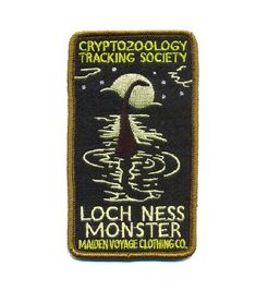 Were now offering our popular Cryptozoology Tracking Society designs in colorful sew-on patches! These patches are reminiscent of the old
