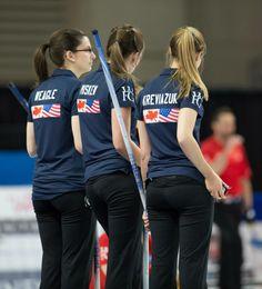 Part of Team Homan Curling, Lady, Sports, Tops, Fashion, Hs Sports, Moda, Fashion Styles, Sport
