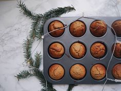Bananenbrot Muffins // Gesund & Einfach Muffins, About Me Blog, Healthy, Simple, Muffin, Cup Cakes