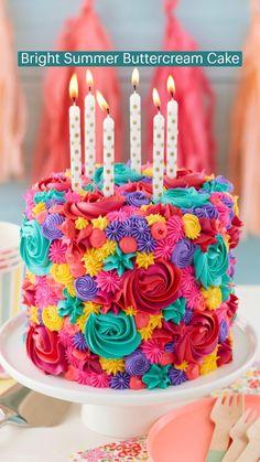 Cake Icing, Buttercream Cake, Eat Cake, Frosting, Cake Decorating Classes, Cake Decorating Techniques, Cookie Decorating, Cupcake Cake Designs, Cupcake Cakes