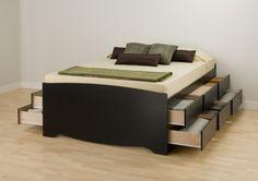 Prepac Platform Storage Platform Bed & Reviews | Wayfair