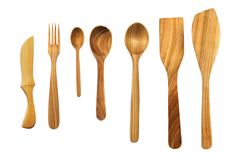 #Wooden cutlery made form #Cherry wood