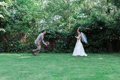 Feszültségoldás a menyasszonnyal az esküvő előtt (Fotó: Derűlátó)
