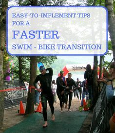 Triathlon training tips: Easy to implement tips for a faster swim-bike transition time