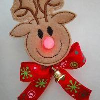 Reindeer Flameless Tealight Pin - via @Craftsy