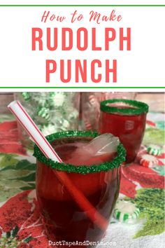 Rudolph Punch, My Kids' Favorite Easy Christmas Punch My kid's favorite drink of all time! But I only let them drink it at Christmas…lol… An easy Christmas punch recipe Christmas Party Drinks, Holiday Drinks, Christmas Treats, Holiday Recipes, Holiday Meals, Easy Christmas Recipes, Christmas Appetizers, Christmas Goodies, Christmas Desserts