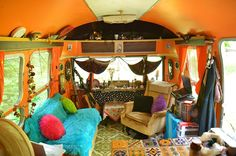 Courthouse Hippies, Refurbished Airstreams and Rice Crispies Airstream Land Yacht, Airstream Interior, Yacht Interior, Vintage Rv, Vintage Airstream, Vintage Trailers, Caravan Living, Rv Living, Airstream Living