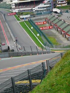 Eau rouge at Spa.. Looks more fun than a roller coaster.