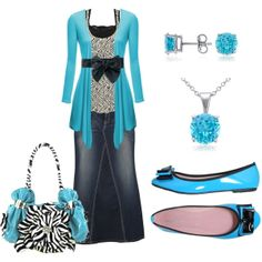Love the color....this is so pretty! With jeans maybe, not a skirt.