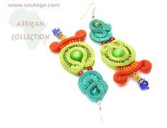 Senegal earrings by Sutasz-Anka http://www.soutage.com/2013/06/senegal-kolczyki.html