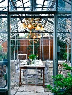 Green house dining