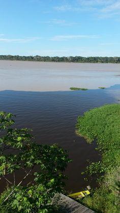 Confluência dos Rios Pakaas Novas e Mamoré, Rondônia, Brasil
