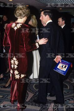 At the Odeon Leichester Square on February 7,1990 for the Premier of Steel Magnolias in Aid  of the Prince's Trust