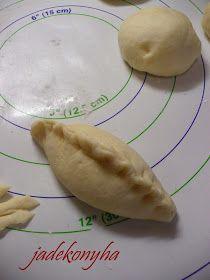 Jade konyhája: Eperkrémes táska