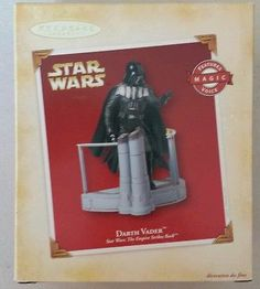 Hallmark Christmas ornament Darth Vader Star Wars Empire Strikes Back