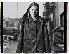 Kate Moss photographed by Dana Lixenberg, 1994, Bowery, NYC