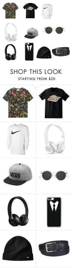 """lijepo-ibur-muška"" by pahulja-decem-ibrahimovic ❤ liked on Polyvore featuring Gucci, Pusheen, NIKE, Beats by Dr. Dre, Vans, Casetify, Columbia, men's fashion and menswear"