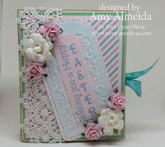 Lil Cutie Creations: Two Paper Divas~ Spring Blog Hop!