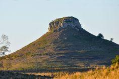 Cerro Batoví, ubicado en el departamento de Rivera al Norte del país.-