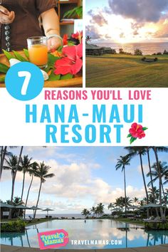 Hana-Maui Resort, formerly Travaasa Hana, is unlike other resorts. It's better. Go here to truly relax and soak up Hawaii's beauty. Discover what makes this hotel so unique in this review. #hana #maui #hyatt #hotelreview #travel Resorts For Kids, Hotels For Kids, Family Resorts, Family Vacation Destinations, Cruise Vacation, Maui Resorts, Hawaii Hotels, Beach Hotels, Hotels And Resorts
